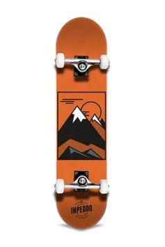 Inpeddo Hill orange Skateboard 8,0