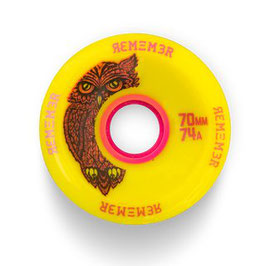 Remember Collective Hot Wheel 74mm 74A Yellow