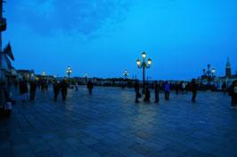 «Venezianische Nacht» I, Piazza Riva degli Schiavoni, Venedig, IT