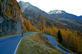 Himmlische Talabfahrt, vom Grande Dixence ins Tal (Val d' Hérémence), Wallis, CH