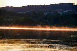 «Erwachen», Neuenburgersee bei Sonnenaufgang, Yverdon-les-Bains, CH