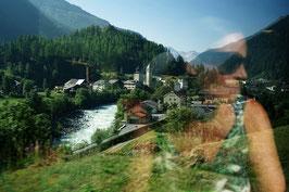 «Postkartenidyll», Dorf Susch im Oberengadin, Engadin, CH