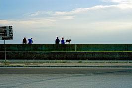 Schauplatz Sonnenuntergang, Punta Sabbioni, Venedig, IT