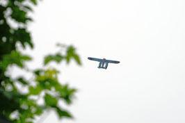 Höhenflug – mit Wasserflugzeug über dem Sarnersee, Obwalden, CH