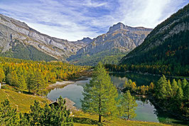 «Herbstpanorama», am Lac de Derborence,  Conthey, Wallis, CH