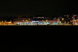 Messe Luzern, Nachtaufnahme, Luzern, CH