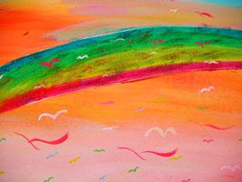 Regenbogen c)