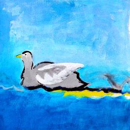 Wasservogel a)