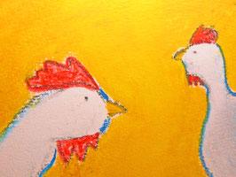 Hühnergeflüster a)