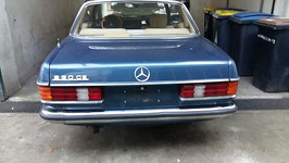 Vg.Nr 1238800371 1238800471 Stoßstange hinten komplett W123 Coupe 230C 230CE 280CE 280C 280E