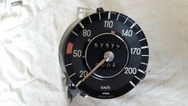 Mercedes Tacho Tachometer 0005420401 200 km h speedometer W108 W109