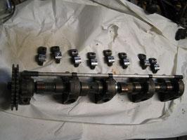 Mercedes original Nockenwelle Camshaft links 11716 V8 komplett mit Kipphebel W107 R 107 W126 420 500 560