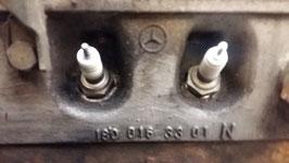 Mercedes Zylinderkopf 1800163301 180 016 33 01 cylinder head M180 W108 W114 W111 230 250