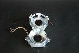 Mercedes Scheinwerfer Fernlicht Abblendlicht Halter Träger Satz überholt 1088207161 Reflektor holder headlight set overhauled W108 W109 W111 W112