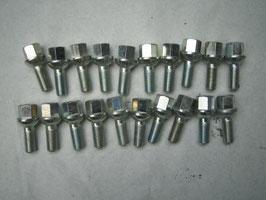 Mercedes Satz Radbolzen für Barockfelgen Leichtmetallräder NF 1084010670  1264010670 W107 R107 W108 W110 W111 W112 W113 W114 W115 W116 W123 W126