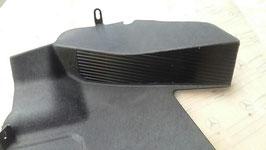 2016880906 NOS Neu Verkleidung Fußraum unten links schwarz Mercedes W201