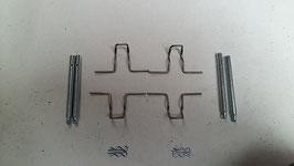 Mercedes Halter Feder Befestigung Satz Bremsbeläge hinten Bendix 0009912669 0004210573 0004212091 holder attachment front W126 W123 R107 W114 W115