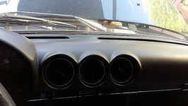Mercedes Armaturenbrett Instrumententafel  original schwarz 1076801387 1076803487 dash board black W107 R107 SL SLC