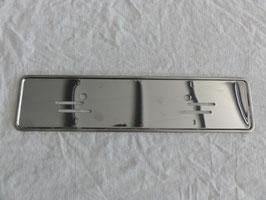 Vg.Nr. 1158170378 Nummernschildverstärkung Unterlage Kennzeichen license plate Mercedes W114 W115 W116 W123 W107 R107 W126