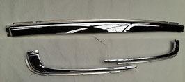 Vg.Nr. 1078850005 1078850305 1078850405 Satz Chrom Schalen Stoßstange hinten chrom plate bumper rear W107 R107
