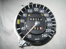 Mercedes Tacho Tachometer 0005427801 240 km/h speedometer W108 W109
