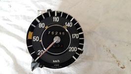 Mercedes Tacho Tachometer 0005423101 200 km h speedometer W108 W109