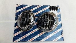 Mercedes Signalhorn Hupe Vg.Nr 0035421920 0035422020 original Bosch Satz chrom W108 W109 W110 W111 W113