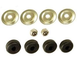 Vg.Nr. 1072400117 Reparatursatz Motordämpfer Stoßdämpfer Motorlager engine damper repair kit Mercedes W114 W107 R107 W108 W109 W110 W111 W116