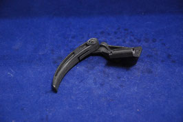 V.Nr. 9703100173 Griff Motorhaubenzug Entriegelung Motorhaube handle Hood Release cable Mercedes W100 W108 W109 W110 W111 W113 W114 W115 W123