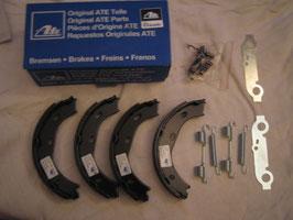 Mercedes Bremsbacken Handbremse Montage set 1264200120 original Ate brake shoes rear mounting set W107 R107 W108 W109 W111 W113 W114 W115 W116 W123 W126