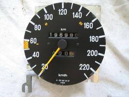 Mercedes Tachometer Tacho Speedometer 1235420457 220 km/h W123 280E 280 280CE 280TE
