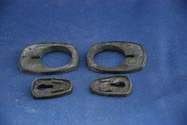 Vg.Nr 1117665101 Mercedes Satz Türgriff Unterlagen Gummis Seal door W113 R113 W111 Coupe Cabrio