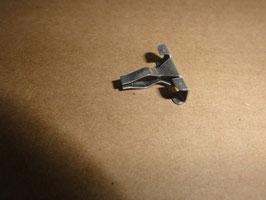 Mercedes Zierleiste Klammer Kühlergrill senkrecht Vg. Nr. 0019886178 clamp vertikal molding trim radiator grille W108 W109 W11
