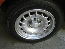 Mercedes Satz Barockfelgen 15 Zoll ARC ADB70 KBA40439 ET23 7x15 wie Fuchsfelgen mit Firestone firehawk 205 60 R15 91H W107 R107 W108 W109 W111 Coupe W113 W114 W116 W123 W126 4Produktname