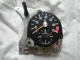 Mercedes DZM Drehzahlmesser mit Uhr VDO 0015425816 0015425716 W107 R 107 W116 8 Zylinder speedometer 350 SL SLC 450 SL SLC
