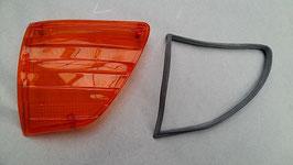Vg.Nr. 0008200266 0008267780 Blinker Blinkerglas links USA turn signal lens left Mercedes W107 R107 SL SLC