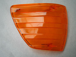 Mercedes Blinker Lichtscheibe Blinkerglas rechts neu 0008200166 indicator turn signal lens right new W107 R107 280SL 300SL 350SL 450SL 500SL 560SL SLC