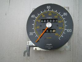 Mercedes Tachometer Tacho Speedometer 1235424901 180 km/h 100 miles 300D 300CD 300TD 300TDT W123