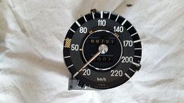 Mercedes Tacho Tachometer 0005426801 220 km h speedometer W108 W109