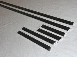 Mercedes Zierleisten Satz Chrom Tür Kotflügel Seitenteil Vg, Nr 1136980080 NF