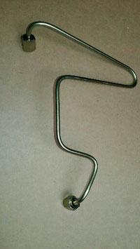 Vg.Nr 6010703733 Kraftstoffleitung Hochdruckleitung Einspritzdüse 1 Zylinder feul line Mercedes W201 W124 W126 200D 250D 300D Diesel