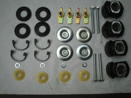 Mercedes Vorderachsträger Reparatursatz Vorderachse W107 repair kit Front subframe R 107 W114 W115 /8 Ref. Teilenummer 1153301875 SL SLC