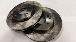 Vg.Nr. 1244211612 Bremscheibe vorne Satz brake disc R107 W107 300SL 420SL 500SL 560SL W124 W201 16V