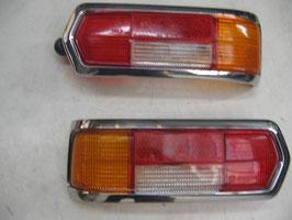 Mercedes Satz Rückleuchten Rücklichter links rechts Heckleuchten tail lights rear lights W108 W109 S SE SEL