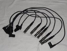 Mercedes Zündkabel Satz Leitungssatz Zündkerzen M103  ignition cable set W107 R107 W124 W126 300SL 300E 260SE