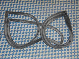 Mercedes Kofferraumdichtung Original Vg. Nr. 1117505077  trunk seal W111 W112 Coupe