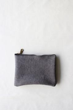 zipper pouch moon grey