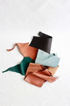 Leather scraps M
