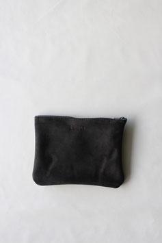 zipper pouch dark blue anthracite