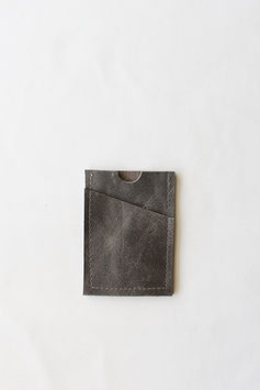 Card wallet concrete grey